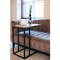 thumb-Sofa tafel Orion met bruin marmer-2