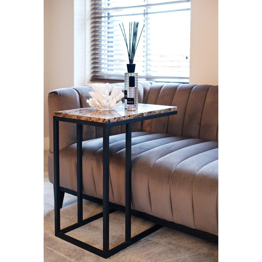 Sofa tafel Orion met bruin marmer-2