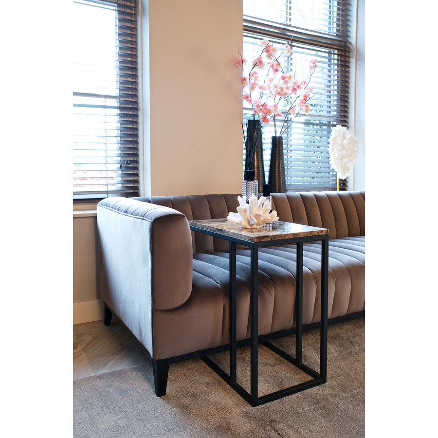 Sofa tafel Orion met bruin marmer-7