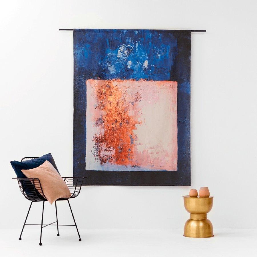 Wandkleed Abstract in E-mineur-2