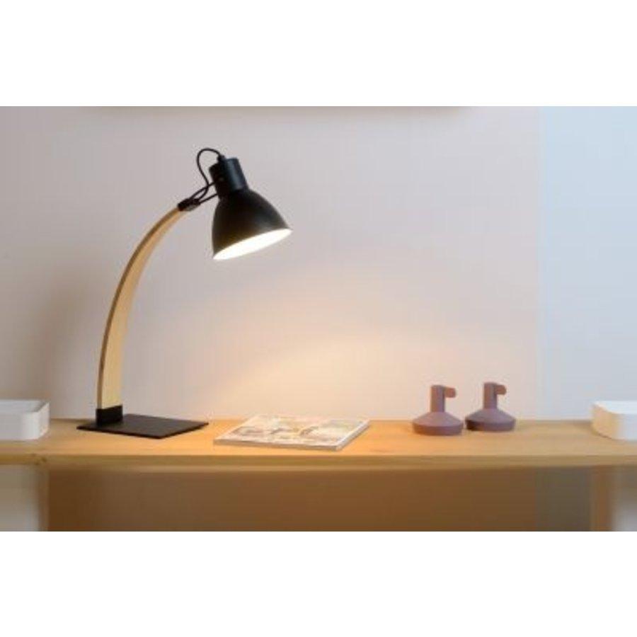 Bureaulamp Curf in zwart of wit-4