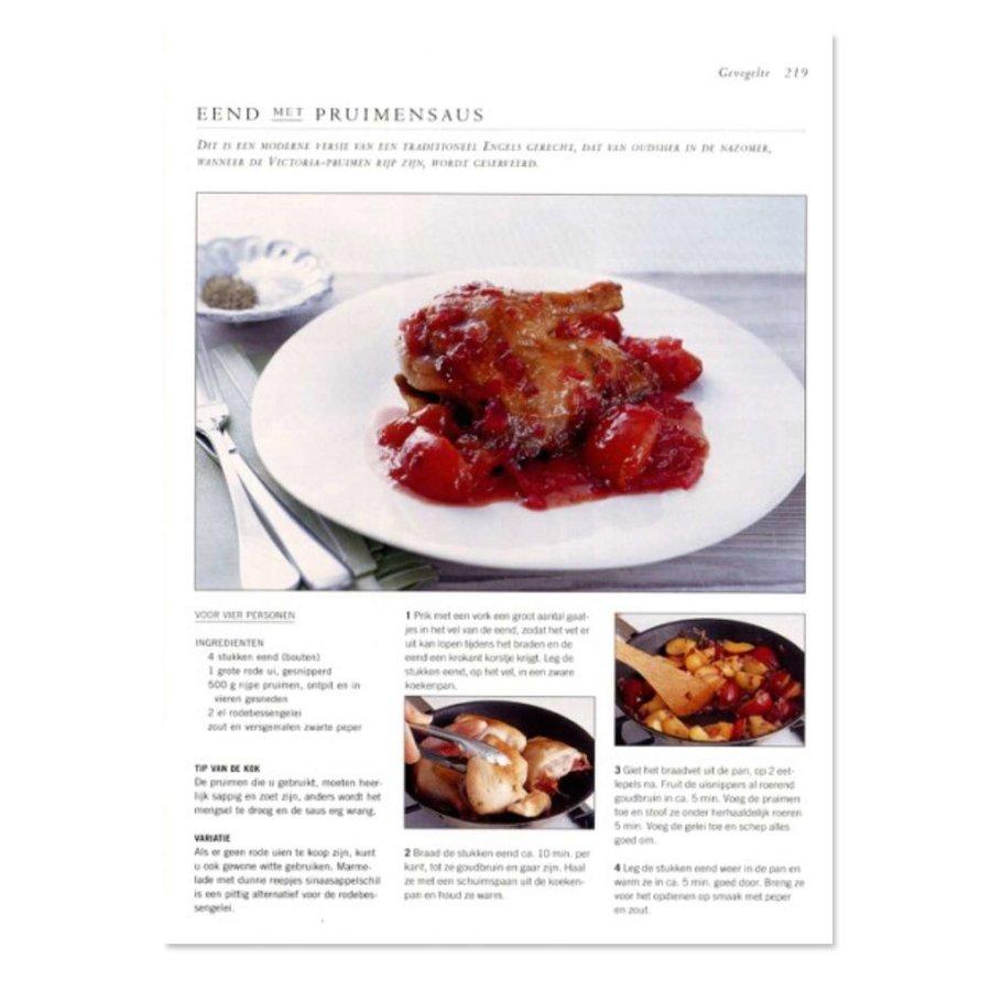 Cadeau: Minibijbel Vlees, wild en gevogelte met olijfhouten steakplank-5