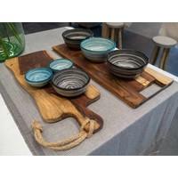 thumb-Cadeau: Minibijbel Japanse keuken met Serveerplank Rozenhout-5