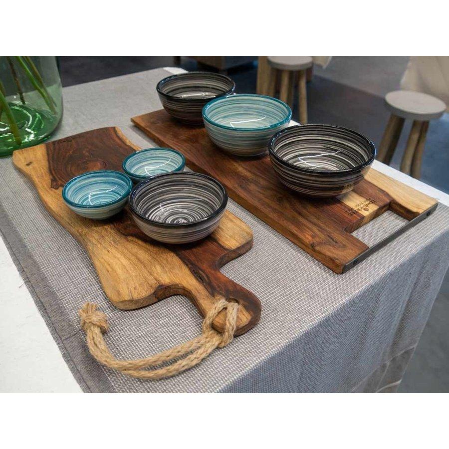 Cadeau: Minibijbel Japanse keuken met Serveerplank Rozenhout-5