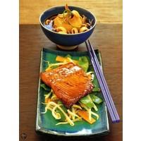 thumb-Cadeau: Minibijbel Japanse keuken met Serveerplank Rozenhout-6