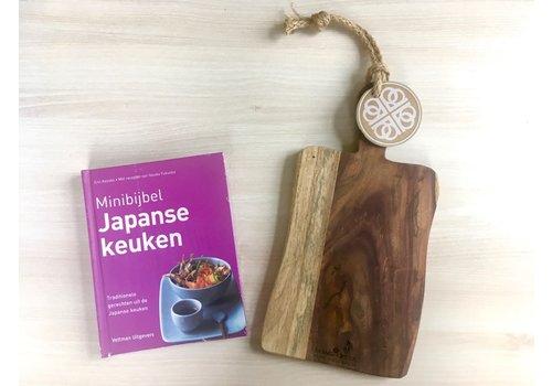 Minibijbel Japanse Keuken en Rose Serveerplank