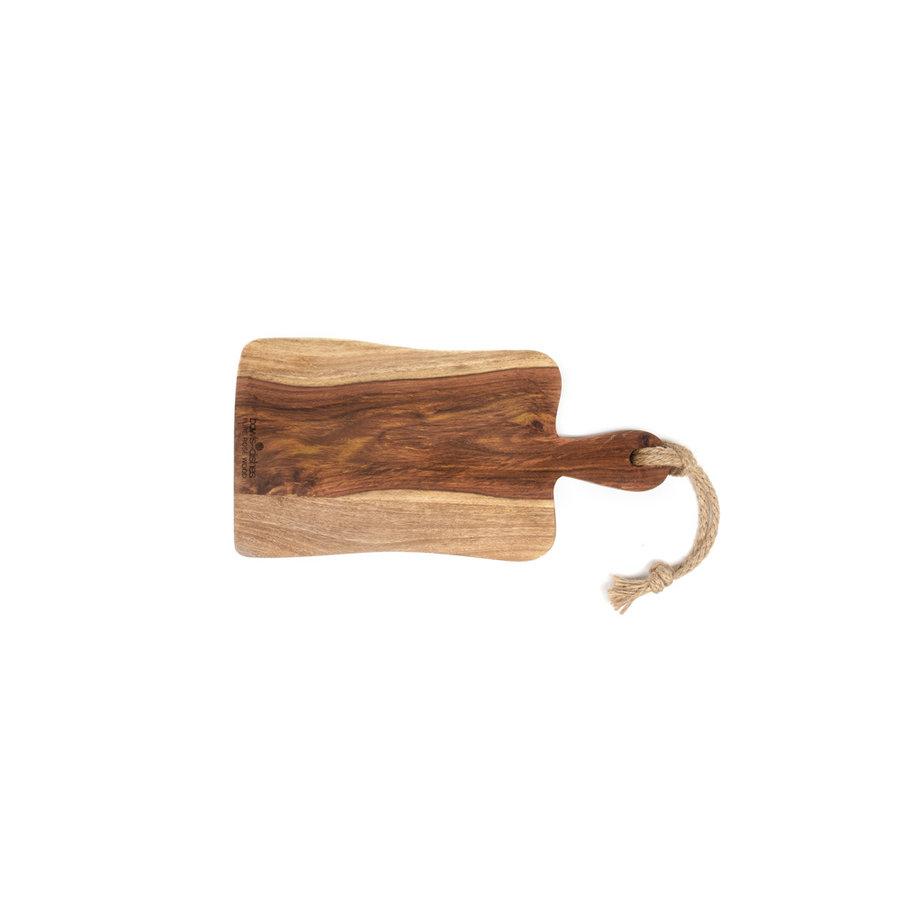 Pure Rose Wood serveerplank van rozenhout met handvat-1