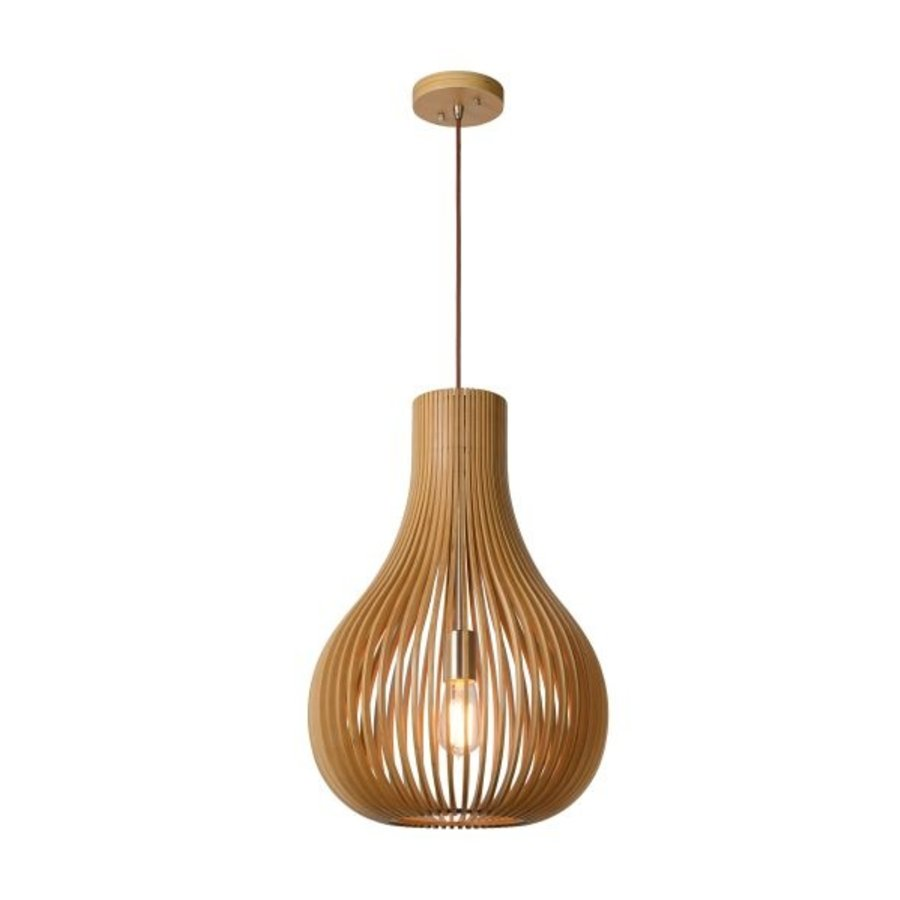 Lucide Hanglamp Bodo licht hout