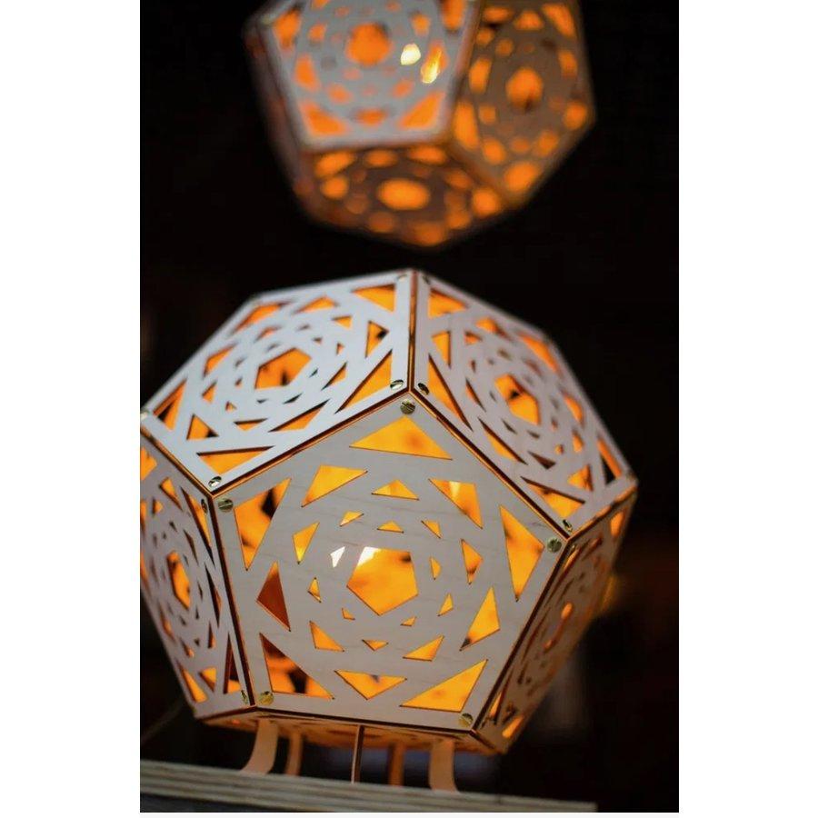 Tafellamp Dodecahedron no. 34-3