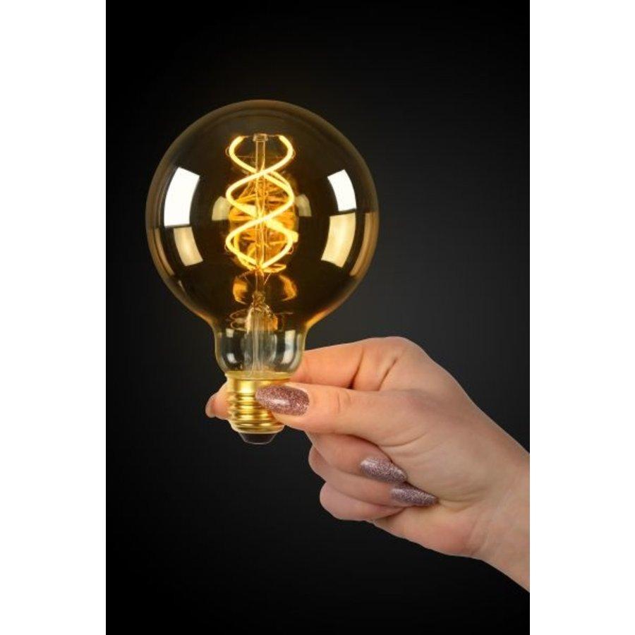 Dimbare LED filament lamp 9,5 cm Amber-3