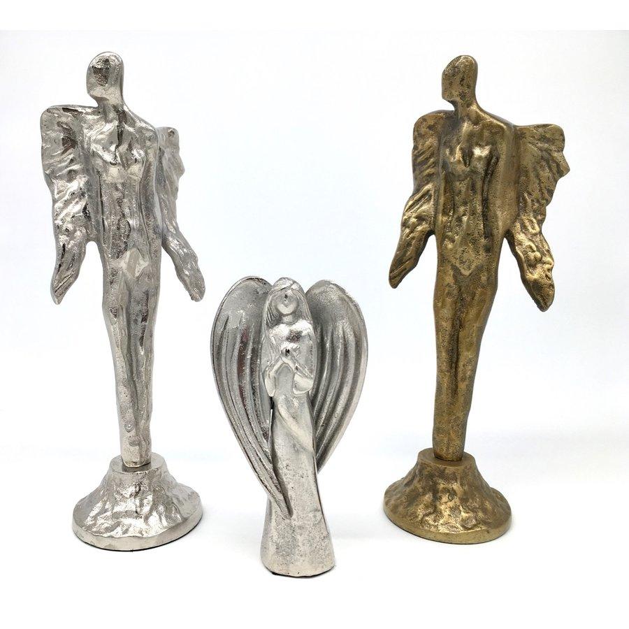 Decoratieve Engel zilver- of goudkleurig-10