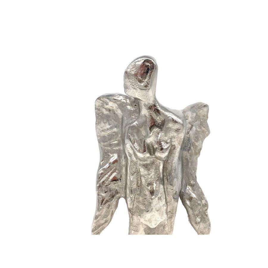 Decoratieve Engel zilver- of goudkleurig-5