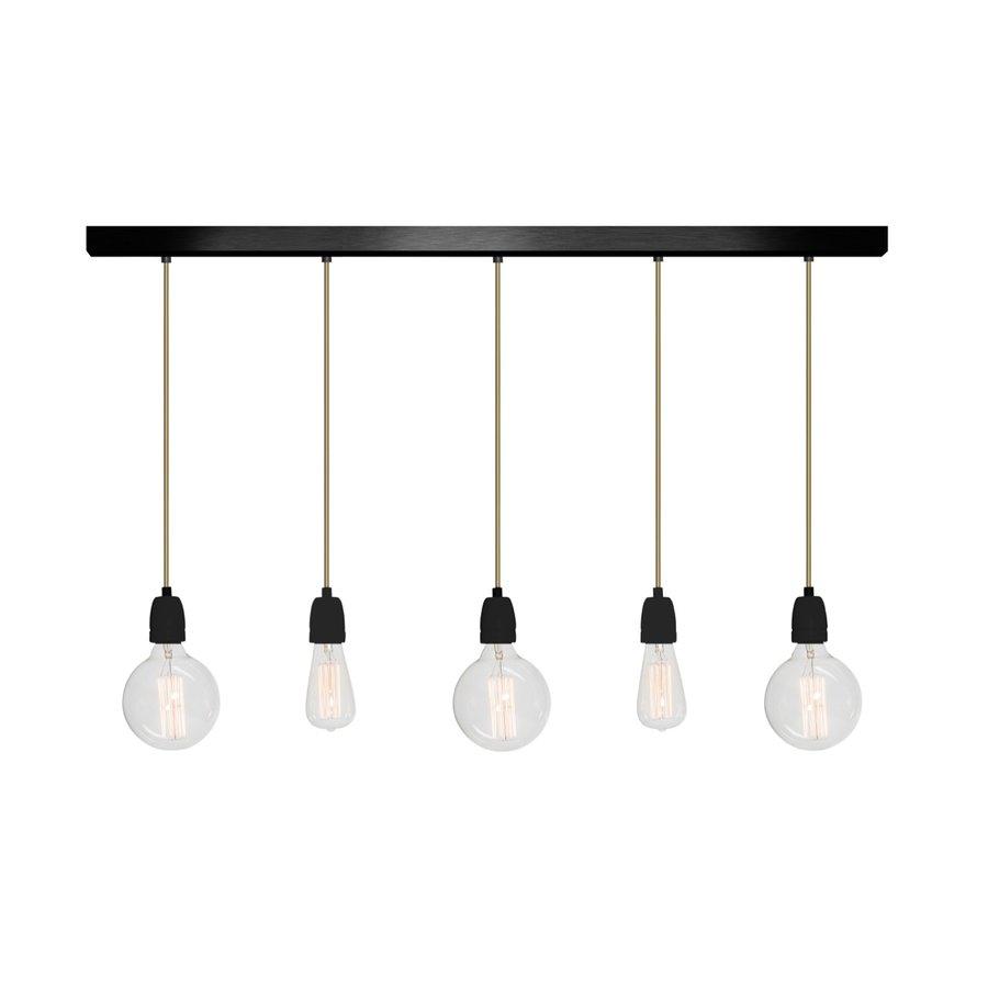 Hanglamp No.12 Het Lichtlab 5-lichts-2