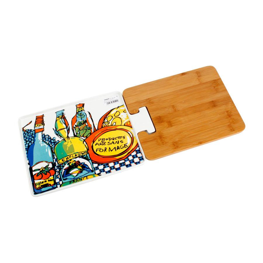 Rechthoekig bord en plank FRANCE-1