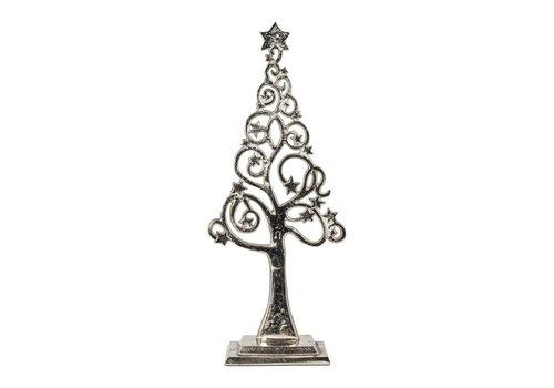Alu beeld kerstboom