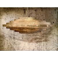 thumb-Hanglamp Vegas ovaal in zilver of brons-2