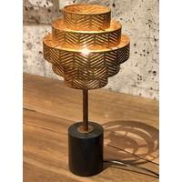 thumb-Tafellamp Vegas in zilver of brons-4
