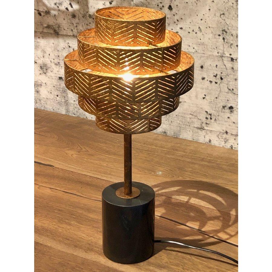 Tafellamp Vegas in zilver of brons-4