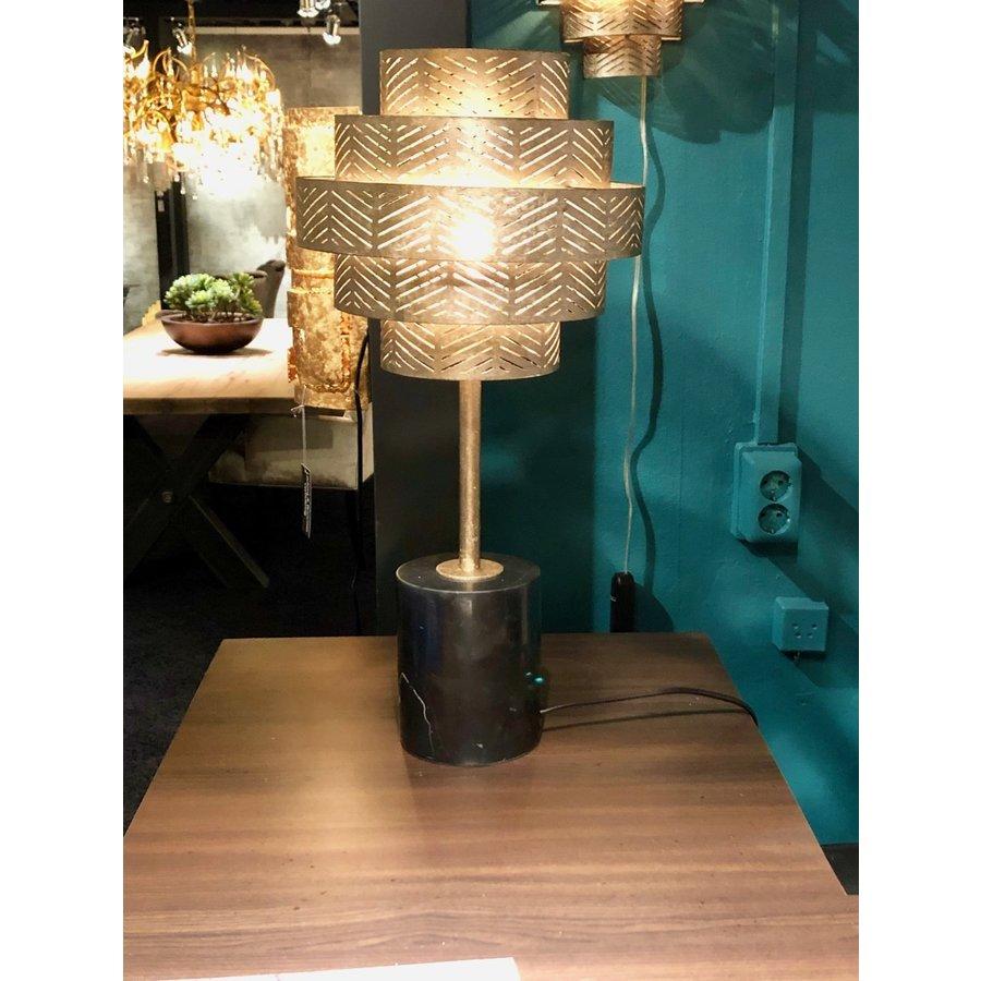 Tafellamp Vegas in zilver of brons-3