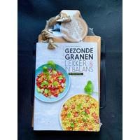 thumb-Cadeauset 'Gezonde Granen' kookboek en serveerplank-1