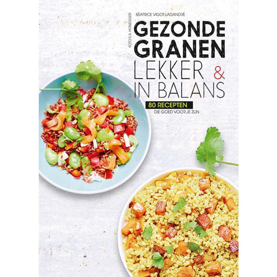 Cadeauset 'Gezonde Granen' kookboek en serveerplank-2
