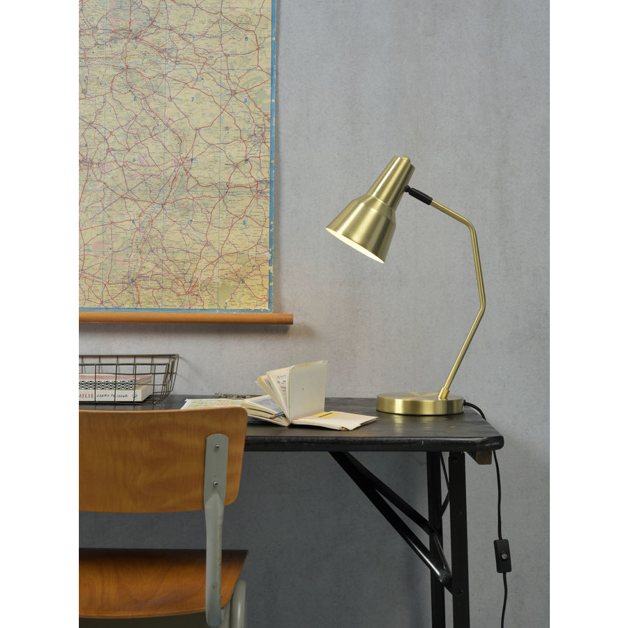 Tafellamp Valencia in Goud of Zwart-3