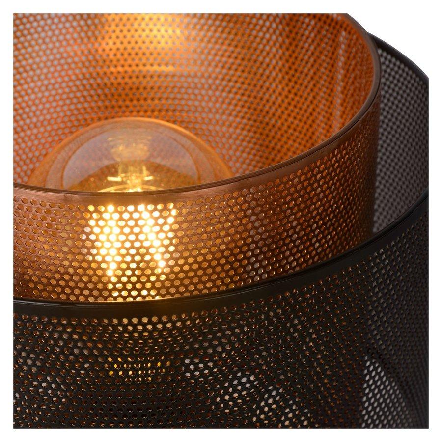 Tafellamp Orrin ø25 cm metaal zwart en koper-4