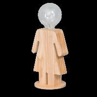 thumb-Tafellamp houten vrouwtje Eve in twee maten-1