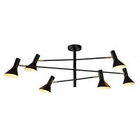 thumb-Plafondlamp Izmir zwart/goud draaibaar-1