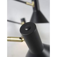 thumb-Plafondlamp Izmir zwart/goud draaibaar-5