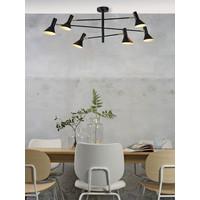 thumb-Plafondlamp Izmir zwart/goud draaibaar-2