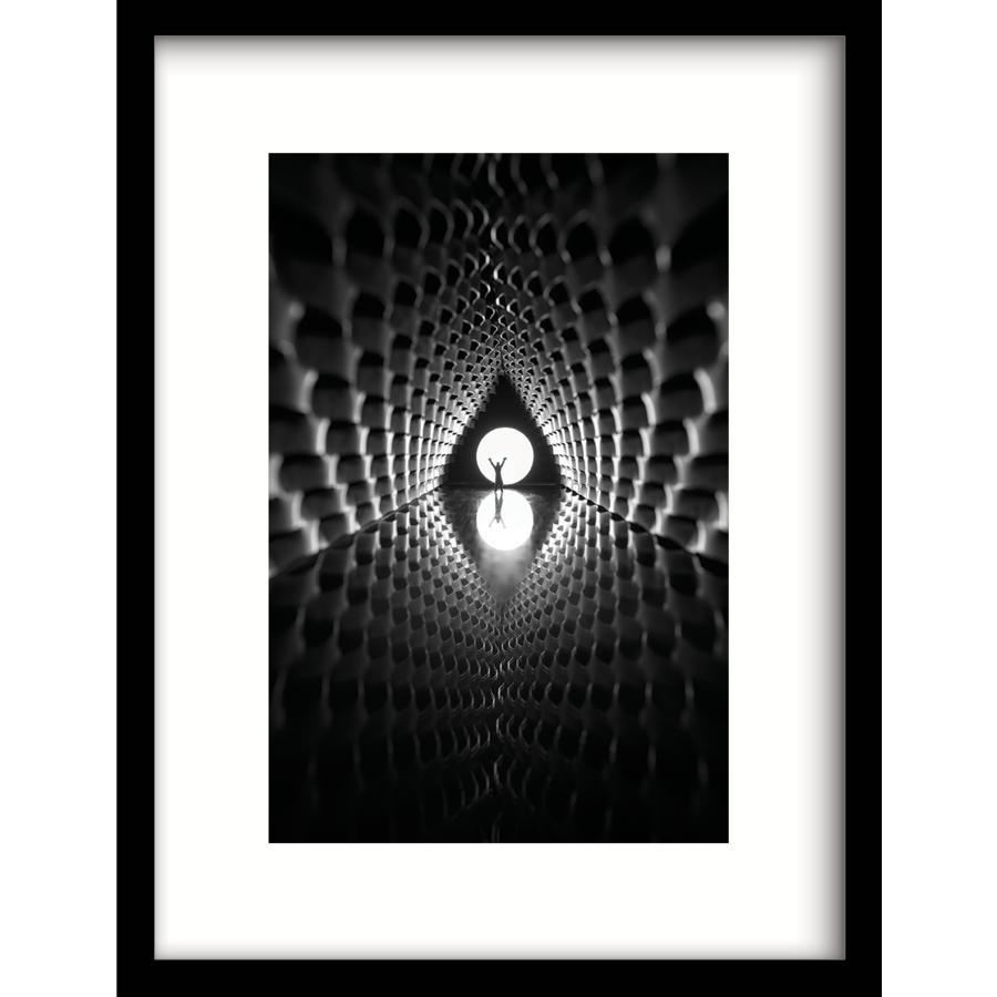 Art Print Out of Space  in 3 maten-1