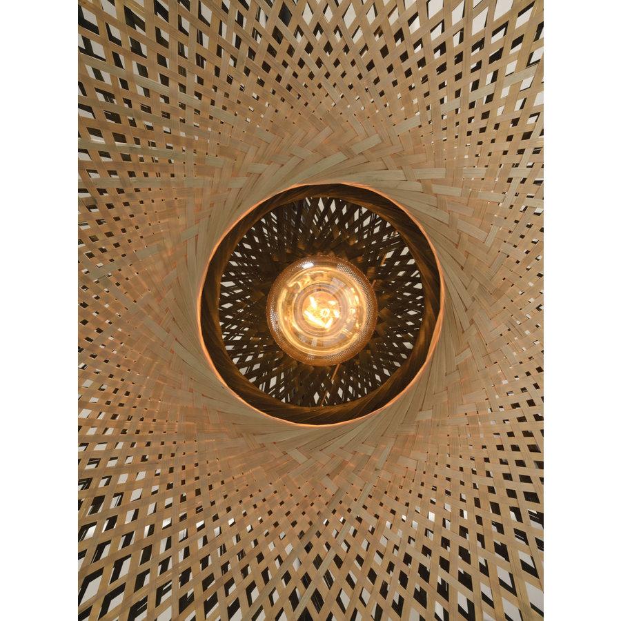 Hanglamp Kalimantan Bamboo flat in 3 maten-7