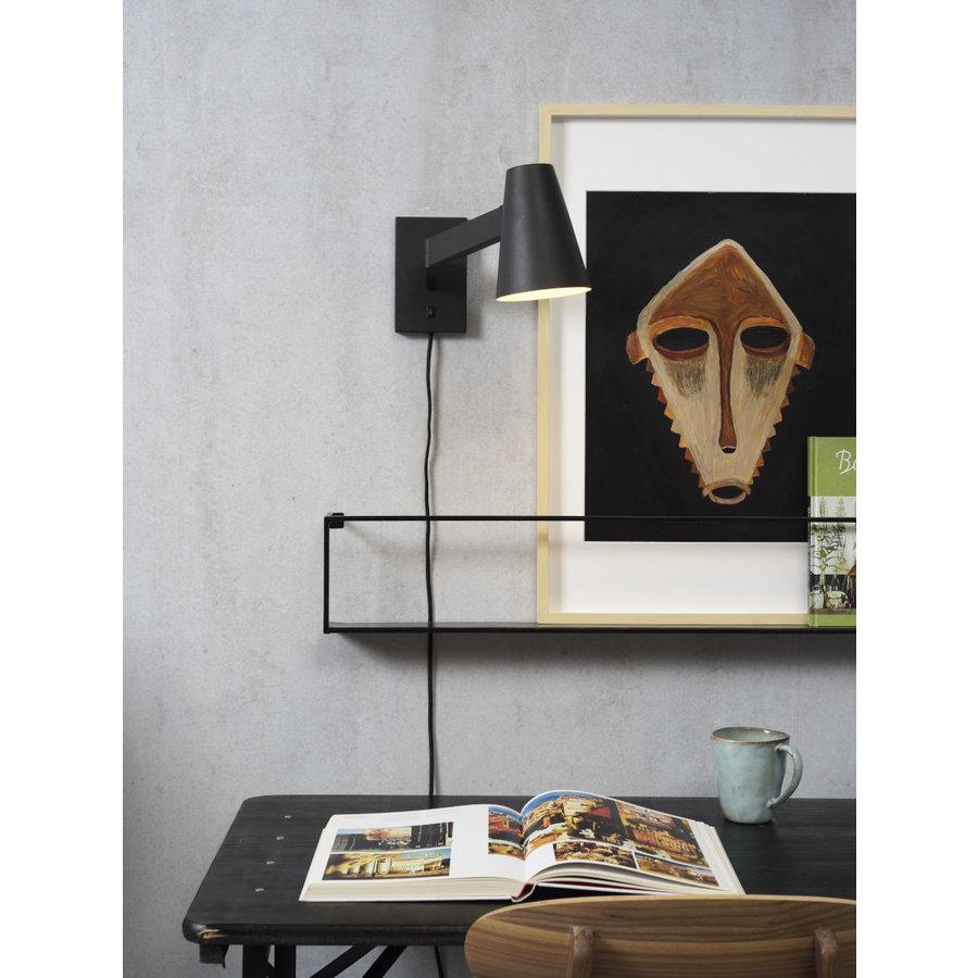 Wandlamp Biarritz zwart of wit-8