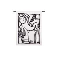 thumb-Urban Cotton wandkleed Vogel-1