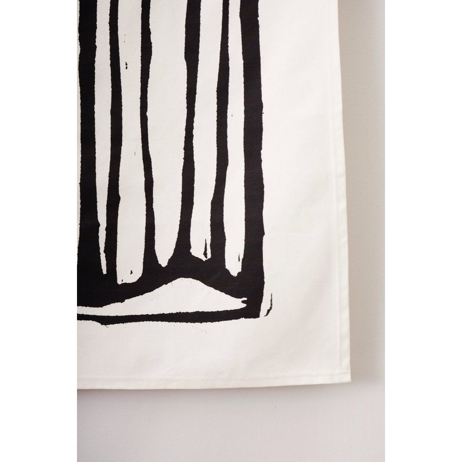 Urban Cotton wandkleed Vogel-3
