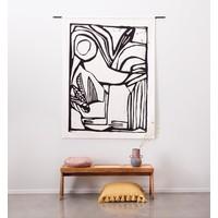 thumb-Urban Cotton wandkleed Vogel-2