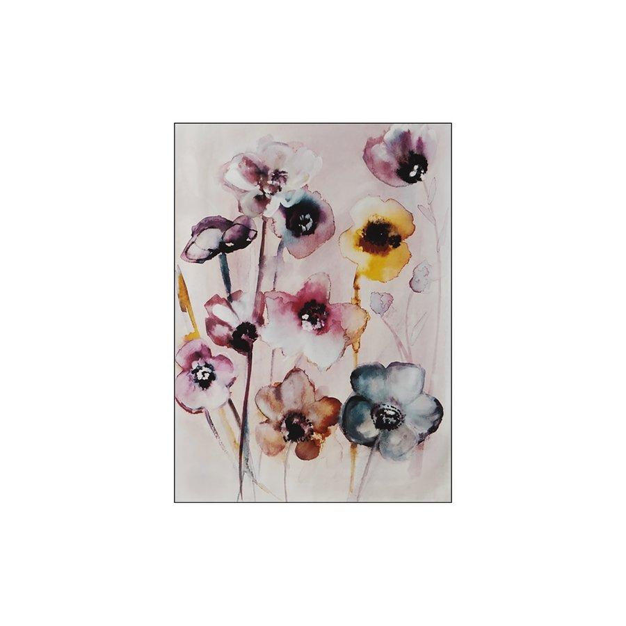 Wandkleed Flowers in Soft Hues-5
