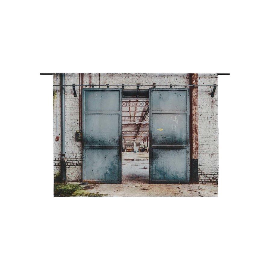 Wandkleed Spinning Doors-1