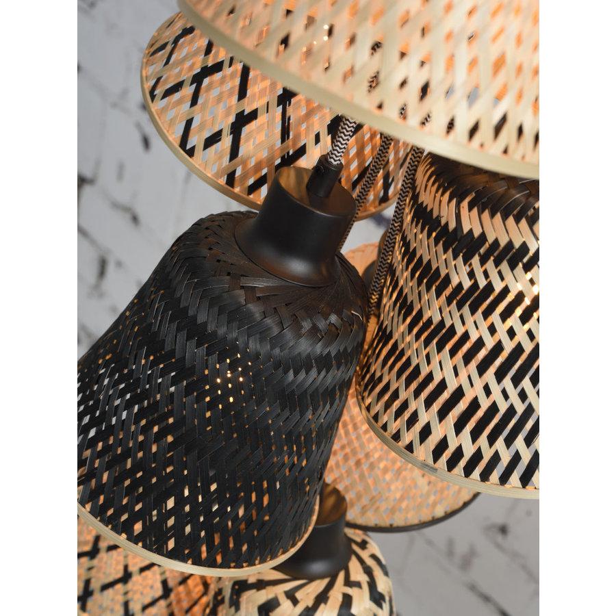 Hanglamp Kalimantan Bamboo 7-kaps-4