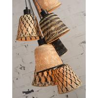 thumb-Hanglamp Kalimantan Bamboo 7-kaps-5