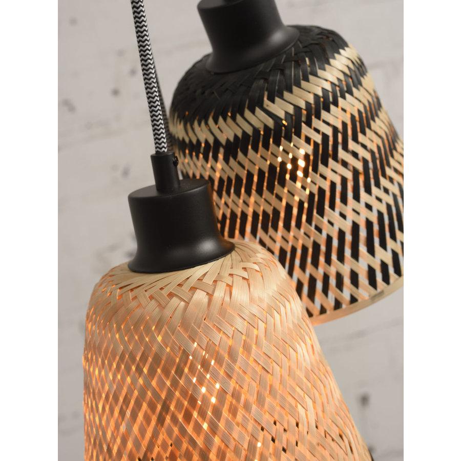 Hanglamp Kalimantan Bamboo 3-kaps-8