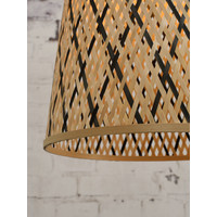 thumb-Hanglamp Kalimantan Bamboo tapered maat S-5