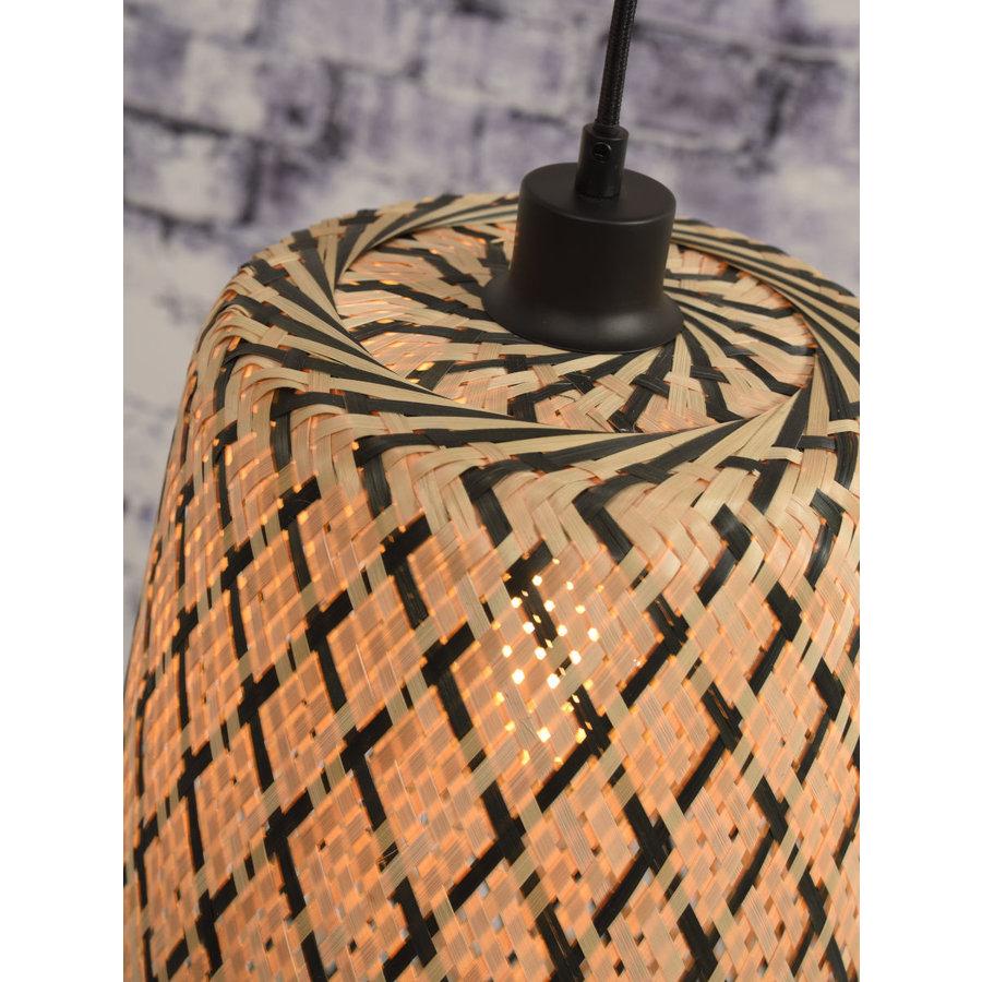 Hanglamp Kalimantan Bamboo tapered maat S-6