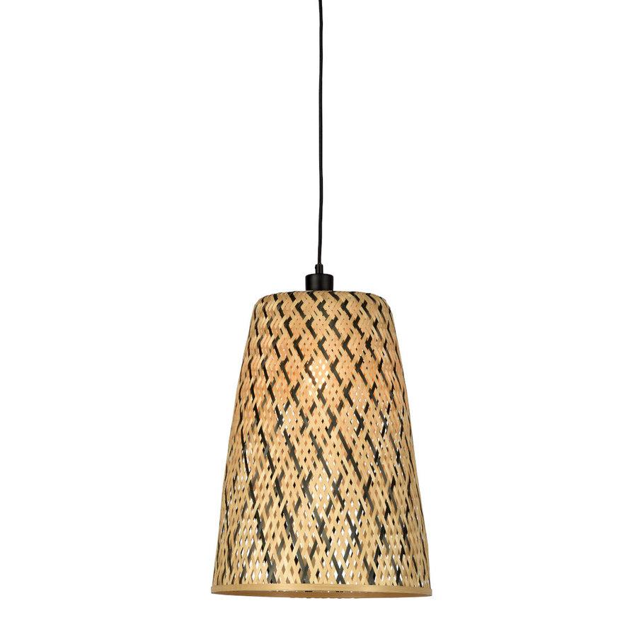 Hanglamp Kalimantan Bamboo tapered maat S-1
