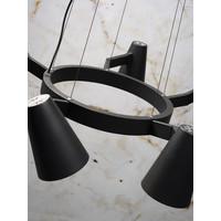 thumb-Moderne kroonluchter Biarritz wit of zwart-5
