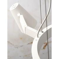 thumb-Moderne kroonluchter Biarritz wit of zwart-6