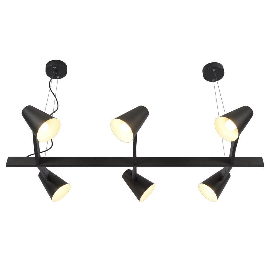 It's about RoMi | Hanglamp Biarritz recht wit of zwart-10