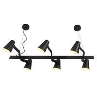 thumb-It's about RoMi | Hanglamp Biarritz recht wit of zwart-1