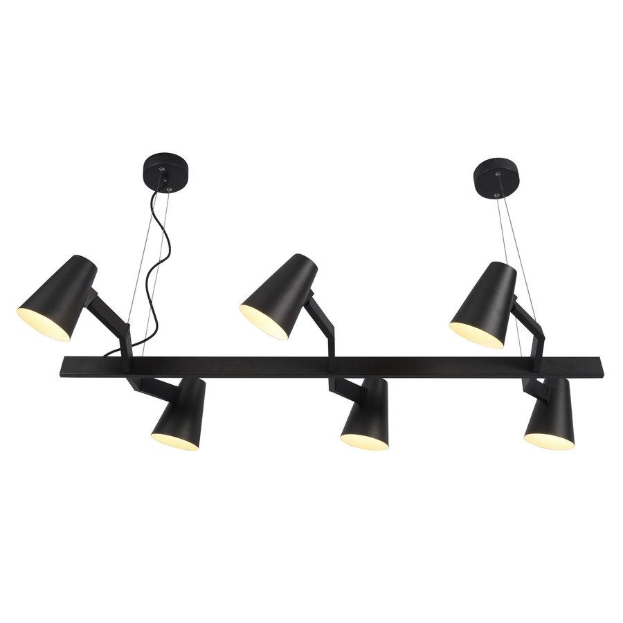 It's about RoMi | Hanglamp Biarritz recht wit of zwart-1